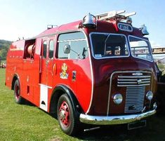 Commer fire engine at Old Classic Cars Old Classic Cars, Classic Trucks, Fire Dept, Fire Department, Volunteer Firefighter, Firefighters Wife, Firefighter Decor, Female Firefighter, Fire Equipment