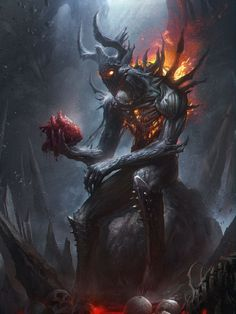 black dragonkin concept art - Google Search