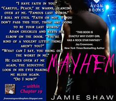 MAYHEM by Jamie Shaw -- Read my review here: http://frommetoyouvideophoto.blogspot.com/2015/07/idolizing-in-mayhem-series-book-1.html #teaser #meme #bookteaser #rockstar #MAYHEM #romance #romancenovel #contemporary #contemporaryromance #NewAdultromance #NewAdultnovel