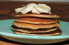 Pancakes de Avena terminados Vegan Gluten Free, Paleo, Healthy Recepies, Stevia, Coffee Time, Diet Recipes, Smoothies, Healthy Lifestyle, Food And Drink