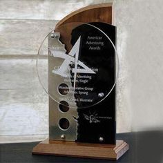 Acrylic Award/Medal, Eco-friendly, ISO/SGS Certified, Great Safety of Package