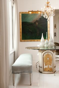 touches of gold // antiques // interior design