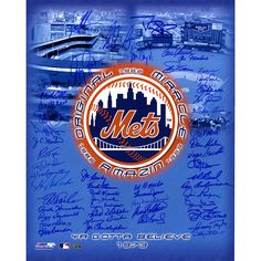Steiner New York Mets Tribute -Signed 16x20 Photo