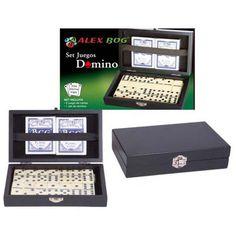 Set de juegos.  http://www.cosaspararegalar.es/ideas-para-regalar/juegos-de-mesa/box-domino-cartas.html