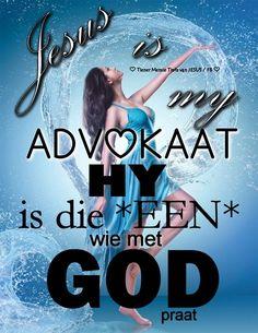 Christelike Boodskappies: Jesus is my Advokaat