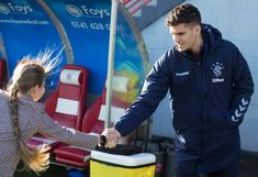 Steven Gerrard impressed by speed of Ianis Hagi's adaption to Rangers Rangers Football, Steven Gerrard, Got Him, Lineup, Romania, Champion, Kicks, Soccer, Action