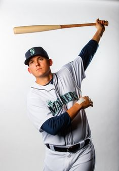bd4404296 Seattle Mariners first baseman Ryon Healy poses for a portrait during media  day at Peoria Stadium. Mandatory Credit  Mark J.