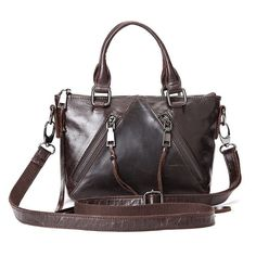Cheap messenger bag, Buy Quality shoulder messenger bag directly from China women genuine leather handbags Suppliers: Women's Genuine Leather Handbag Small Totes Vintage Shoulder Messenger Bag Leather Crossbody Bag, Leather Handbags, Crossbody Bags, Satchel Purse, Women's Handbags, Vintage Messenger Bag, Messenger Bags, Large Shoulder Bags, Casual Bags