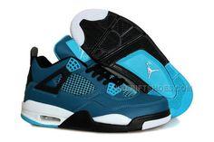 http://www.nikeriftshoes.com/air-jordan-4-teal-white-black-retro.html Only$88.00 AIR #JORDAN 4 TEAL WHITE BLACK #RETRO #Free #Shipping!