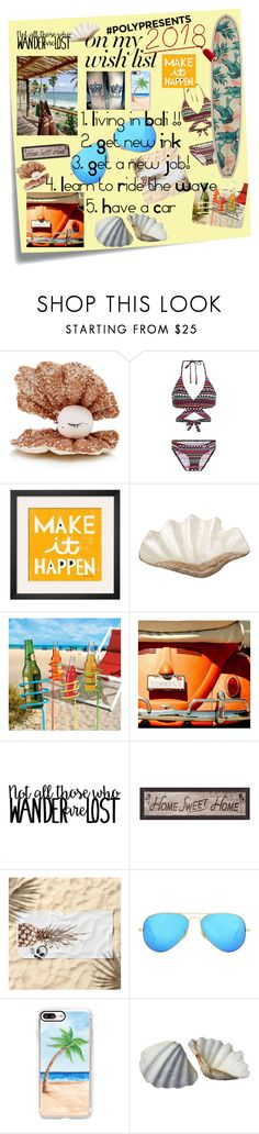 """""""#PolyPresents: Wish List 4"""" by nova5ta5ia ❤ liked on Polyvore featuring Post-It, Tamar Mogendorff, Bruno Banani, Pearl Dragon, Improvements, Pottery Barn, Ray-Ban, Casetify, contestentry and polyPresents"""