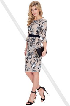 http://www.fashions-first.dk/dame/kjoler/floral-print-peplum-three-quarter-sleeved-midi-dress-k1740-2.html Spring Collection fra Fashions-First er til rådighed nu. Fashions-First en af de berømte online grossist af mode klude, urbane klude, tilbehør, mænds mode klude, taske, sko, smykker. Produkterne opdateres regelmæssigt. Så du kan besøge og få det produkt, du kan lide. #Fashion #Women #dress #top #jeans #leggings #jacket #cardigan #sweater #summer #autumn #pullover
