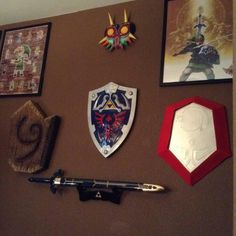 better view of my wall. that mirror shield was simple to do except for the final step (connecting and pasting the outershield. grrrr)