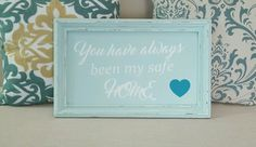 Custom cabinet signs. Email me at lovemadethisdecor@gmail