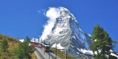 One of the highlights of a Summer holiday in Zermatt - taking the Gornergrat railway right to the top - the views are astounding. Zermatt, Travel Companies, Luxury Holidays, Travel Agency, Plan Your Trip, Alps, Luxury Travel, Day Trips, The Good Place