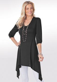 Ultimate Tunic for Tall Women | Long Elegant Legs