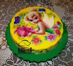 Torta de #Tinkerbel #Campanita