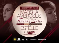 Marsha Ambrosius Presents Friends And Lovers Live In Concert @ NJ PAC Friday November 29, 2013