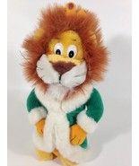 Liberty Toy Plush Lion King of the Jungle Cat Stuffed Animal Green Robe Crown Jungle Cat, Stuffed Animal Cat, Liberty, Lion, Plush, Teddy Bear, Cats, Green, Animals