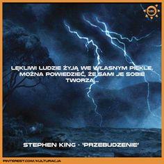 """Cytat z powieści """"Przebudzenie"""" Stephena Kinga"""