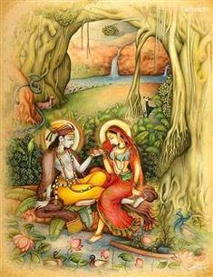 Radhe Krishna Love Paintings Krishna, Radha, Radha Krishna HD Wallpapers, Paintings, And Photoshootes Indian Artist, Indian Paintings, Love Painting, Painting, Art, Top Art, Tanjore Painting, Krishna Painting, Mughal Paintings