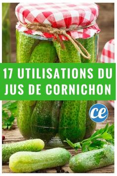 17 utilisations du jus de cornichons pour ne plus jamais le jeter Low Fat Low Carb, Magic Bullet, Pickles, Cucumber, Helpful Hints, Watermelon, Yummy Food, Cleaning, Fruit