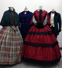 "Costumes in the style of ""A Christmas Carol"" by TDFTKTS, via Flickr"
