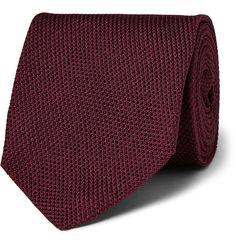 Designed exclusively for MR PORTER. Kingsman understands the importance of impeccable details and this pure silk tie is produced in England by the esteemed label Drake's. This elegant piece is woven from a high-twist yarn on traditional wooden looms and hand-rolled to ensure the utmost quality. Teamed with a crisp cotton shirt, you're sure to make a sophisticated impression.