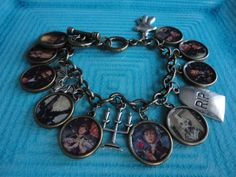 Disney's The Haunted Mansion Stretching portrait charm bracelet by ImAsMADaSaHaTTeR, $40.00