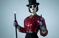 I love this Willy Wonka inspired shoot.
