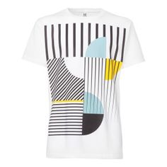 ThokkThokk Art Déco Miami T-Shirt white