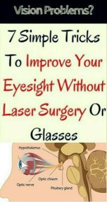 7 Simple Tricks To Improve Your Eyesight Without Laser Surgery Or Glasses #eyeexercisesvisiontherapy