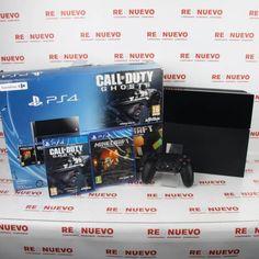 Consola PS4 con MINECRAFT y CALL OF DUTY GHOST#consola#  de segunda mano#PS4