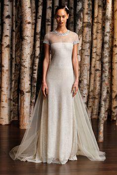 Best in Bridal: Spring 2015 Naeem Khan  http://www.hawaiianweddings.net #weddingdresses #harpersbazaar #springfashionweek