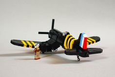 F4U-5 Corsair [French Navy - Suez Crisis] #flickr #plane #LEGO