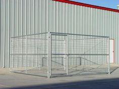 Heavy Duty Outdoor Single Run Dog Kennel 12'x12'x6' – Heavy Duty Pet Crates #indestructible
