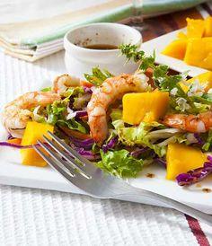 Prawn and mango salad by Nikki Legon