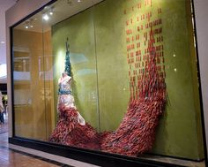 Anthropologie window display  #Anthropologie, #window_display, #installation