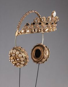 CROWN HEADPHONES BY DOLCEGABBANA, dolce gabbana, headphones dolce gabbana…