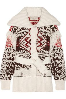 Emilio Pucci Jacquard-knit mohair-blend sweater | THE OUTNET