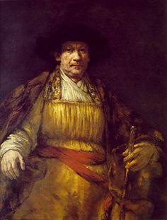 Автопортрет (Рембрандт Харменс ван Рейн).1658год.