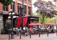 Chill Winston Restaurant, Gastown, Vancouver, BC.
