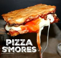 ~PIZZA S'MORES!