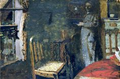 Woman by the Window (1898) / by Edouard Vuillard