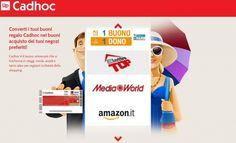 Nuovo partner online per il #PremioDeiPremi: il buono regalo Cadhoc è ora spendibile anche sullo shop e-commerce Mediaworld.it. Scopri la novità!