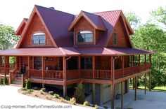 I will have a log home in my future:) have wanted one since I was old enough to understand what a home is:)