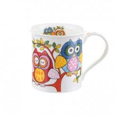 Dunoon owl mug
