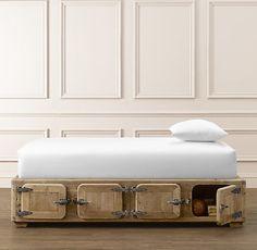 Durant Locker Storage Bed - 4-Door | Beds & Bunk Beds | Restoration Hardware Baby & Child