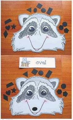 """Kissing Hand Activities: """"Where's Chester's Nose?"""" Kissing Hand shape and spatial direction game/center. Kissing Hand Preschool, Kissing Hand Activities, Cookie Sheet Activities, Book Activities, Shape Activities, Teacher Freebies, Classroom Freebies, Classroom Ideas, Beginning Of School"""