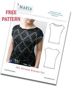 563b66e9a31d6 MariaDenmark Sewing Newsletter Kimono Tee