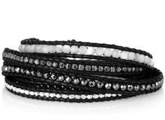 The Fashion Stylista: The Fabulous Find | Chan Luu Silver & Leather Bracelet
